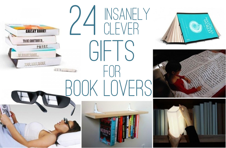 Gifts for book lovers diy christmas