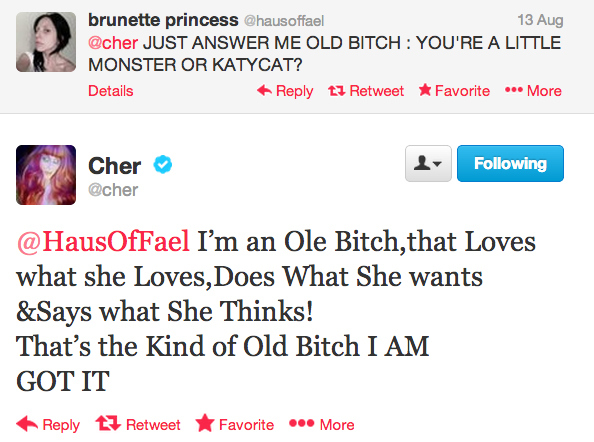 24 Times Cher Opened Up A Can Of Whoop Ass