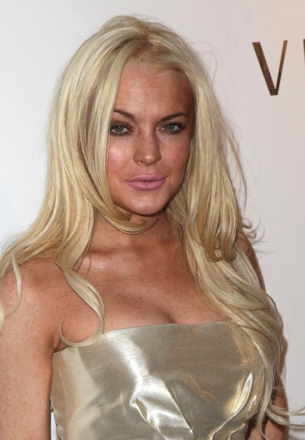 """Likely described as """"a carnal blend of cigarettes and desperation"""", a Lindsay Lohan fragrance would capture her string of bad decisions. Open with whiffs of smoky pepper and hints of a DUI."""