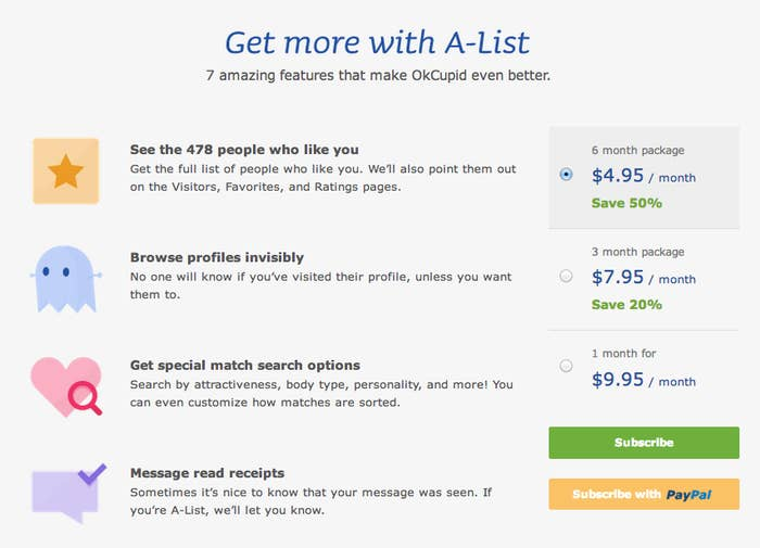 Someone Spent $1,800 Promoting Their OkCupid Profile Over