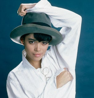 Denise Huxtable with a grill.. Believe It.