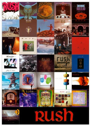 That's a lot of music. The band's kept extremely busy producing amazing rock over the years, experimenting with otherworldly styles and taking listeners on a cosmic journey.