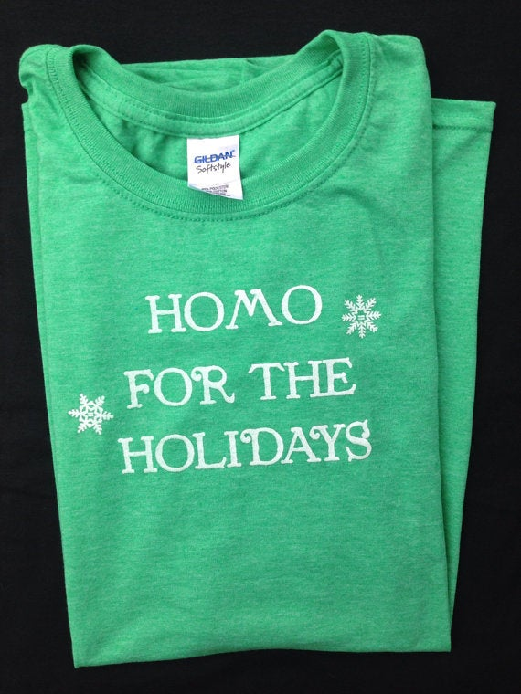 For that person on your list who is proud of their preferences all year long. Via Etsy.