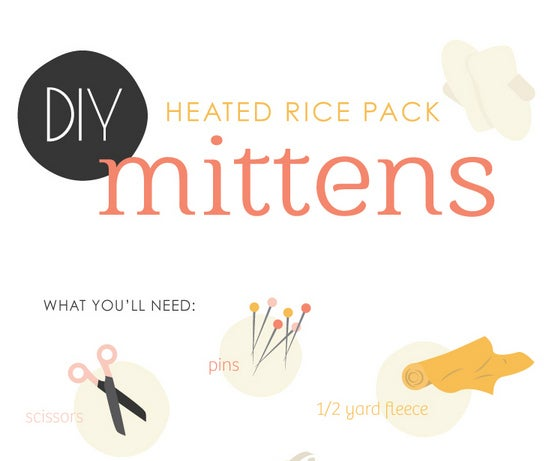 And put them in your mittens. A great alternative to purchasing heat packs. The instructions can be found here.