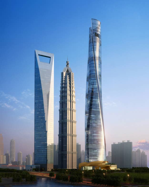 """Before being built, the Shanghai Tower was designed and tested digitally. Although it has been under construction for a while, this year the massive building has officially """"topped out"""" and become not only the tallest building in China, but the second tallest building in the world. (You can even check out an exhibit on the Tower in our Gallery)"""