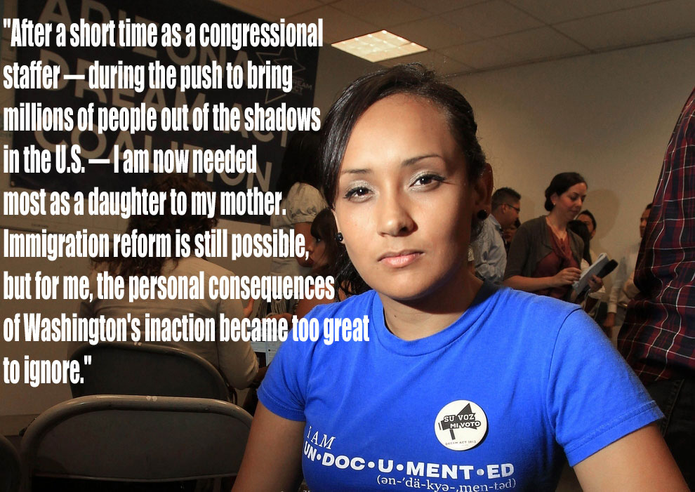 """Prominent """"Dreamer"""" To Leave Job In Congress To Fight Her Mother's Deportation"""