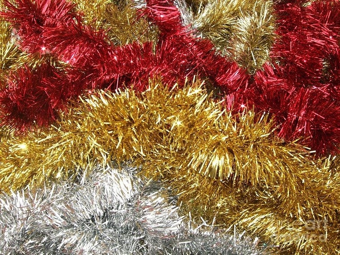 You know how glitter is the herpes of the arts & craft world? Tinsel is the herpes of Christmas. It gets everywhere and is impossible to get rid of.