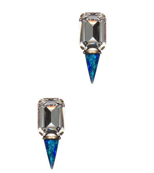 These are the perfect dressy earrings for a cropped pixie cut. Get them here.