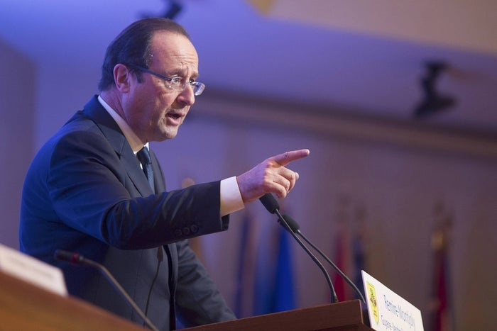 French President François Hollande.