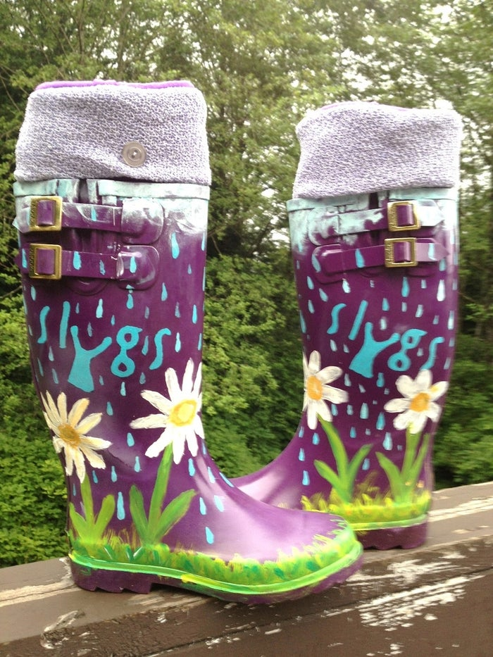 Now you can dazzle on the next rainy day!