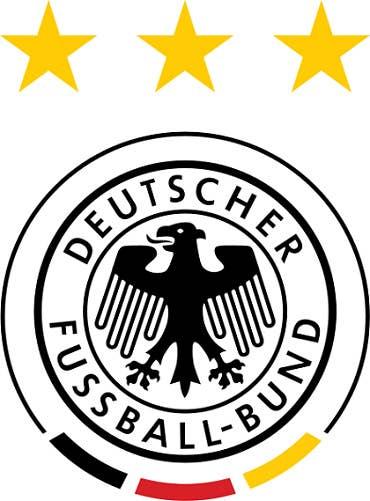 El equipo de Alemania es aveces llamado 'Die Adler' (Las Águilas) o 'Die Mannschaft' (El Equipo).