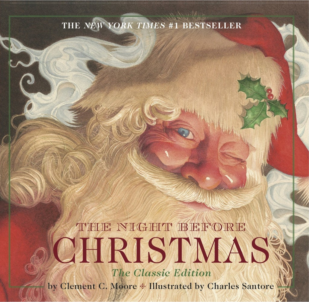 the night before christmas by clement c moore - Books About Santa Claus 2