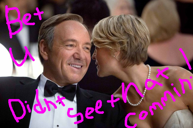 """7 Massive Plot Spoilers From The New """"House Of Cards"""" Promo"""