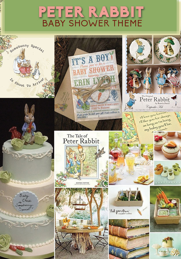 8 Adorable Baby Shower Themes Inspired By Children's Books