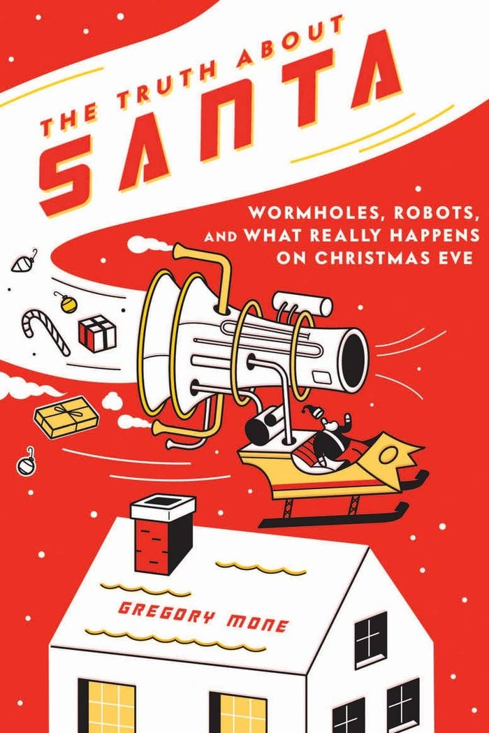 When older kids ask how Santa could possibly visit the whole world in one night, tell them some of this book's funny yet plausible explanations, such as Santa's warp-speed sleigh, frequent use of wormholes, and IT tech genius elves who oversee the operation. Get it here from $6.78.