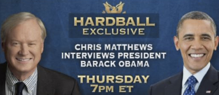 Obama Threw Some Serious Shade At MSNBC's Chris Matthews And Everybody Missed It
