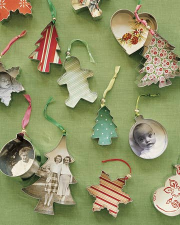 36 adorable diy ornaments you can make with the kids cookie cutter ornaments solutioingenieria Gallery
