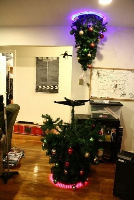 Superior Funny Christmas Tree Decorations Part - 8: This Crazy Christmas Tree Installation.