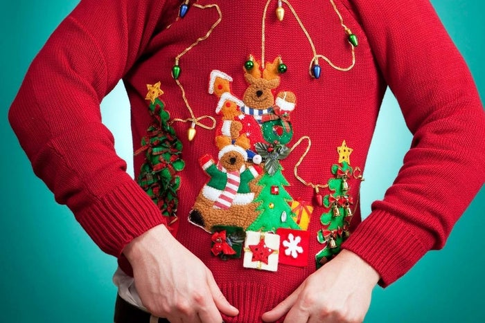 """Unless you're hosting an ugly Christmas sweater party, this is a decidedly uncool gift to get or give. No one – absolutely no one – needs to be forced to wear """"festive"""" knitwear. If you must force Holiday attire on your friends or loved ones, limit yourself to silly socks…"""