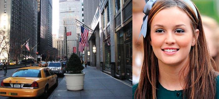 Nothing says Manhattan quite like Blair Waldorf's headband.