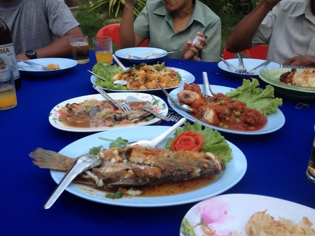 15. You can eat out for every meal of the day and only spend $3 USD.