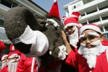6. Christmas is just as popular in majority-Buddhist countries.