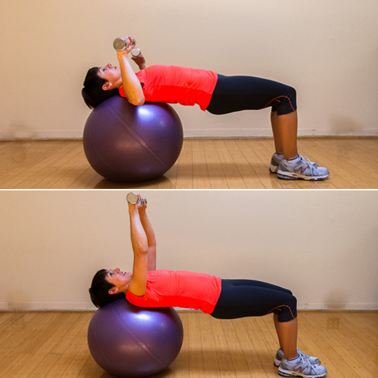Now Don't Forget to Use It: Stability Ball Chest Press
