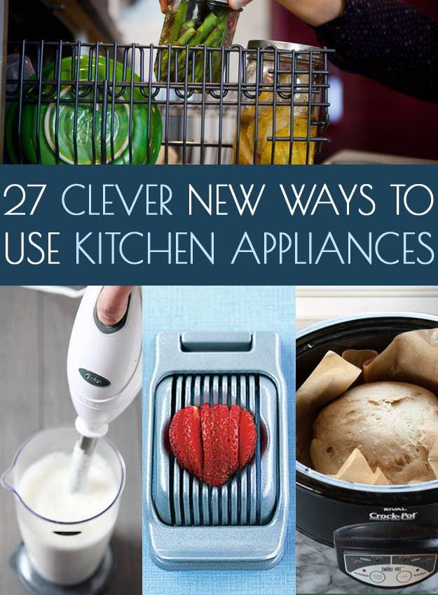 27 Formas nuevas e inteligentes de utilizar los utensilios de cocina