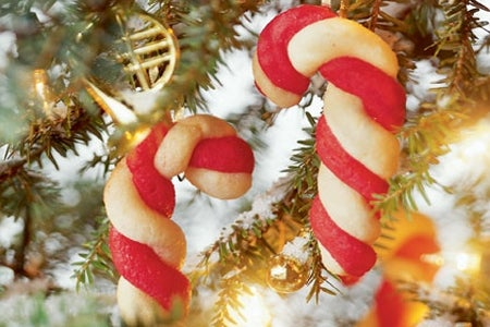 You cane make these cookie ornaments pretty easily with help from NativitySceneOutdoor.