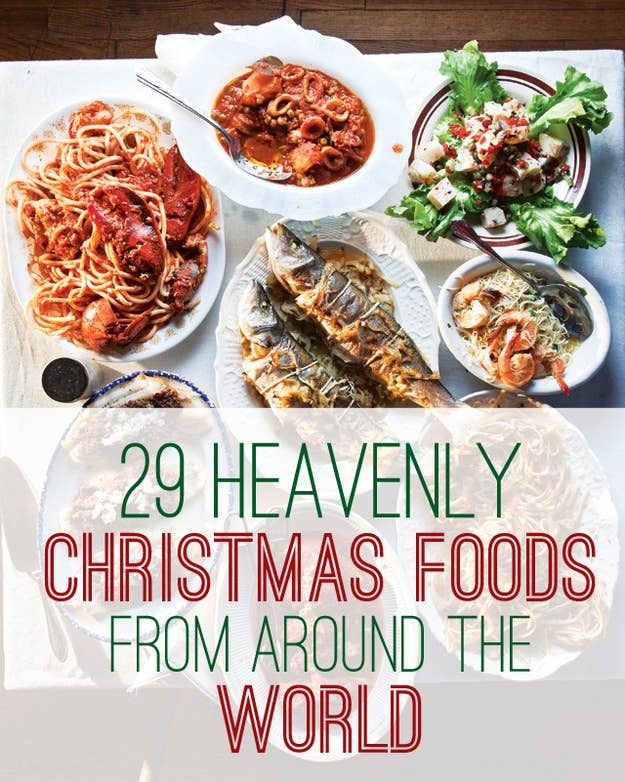 29 Heavenly Christmas Foods From Around The World