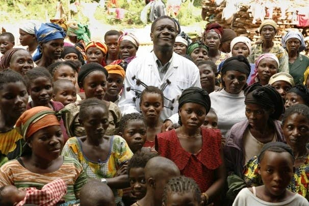 He started a clinic for women who have been gang-raped by rebels in Congo's conflict regions. Despite serious threats to his life, Dr. Mukwege continues to provide his services to Congolese women and has helped treat over 30,000 rape victims. He was nominated this year for a Nobel Peace Prize for his humanitarian work.