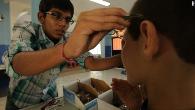 At just 17 years old, Yash started Sight Learning, a non-profit organization that provides corrective eyeglasses to children in Mexico, Honduras, Haiti and India. Gupta has collected and donated close to 10,000 pairs of glasses to those in need.