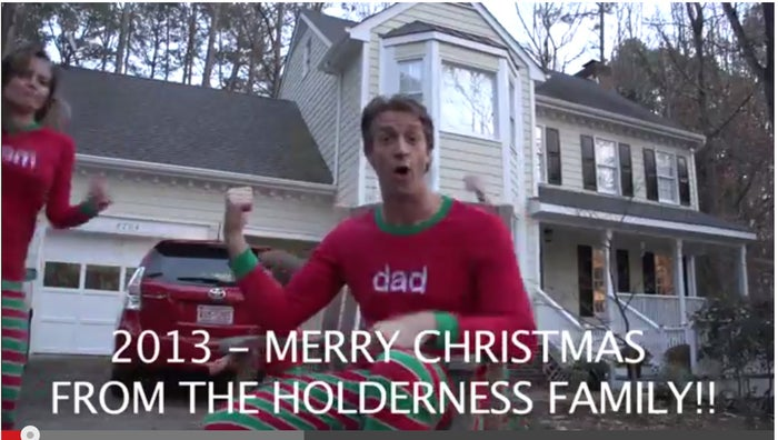 Father Penn welcomes viewers by referring to his family by using the plural form, Holderni.