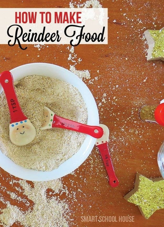 32 easy and inexpensive ways to keep kids entertained this holiday make reindeer food forumfinder Images