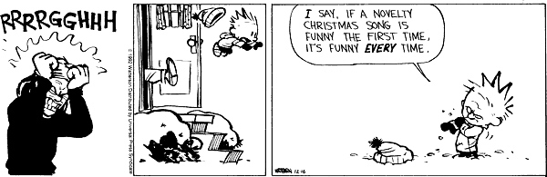the 24 most valuable christmas lessons from calvin and hobbes