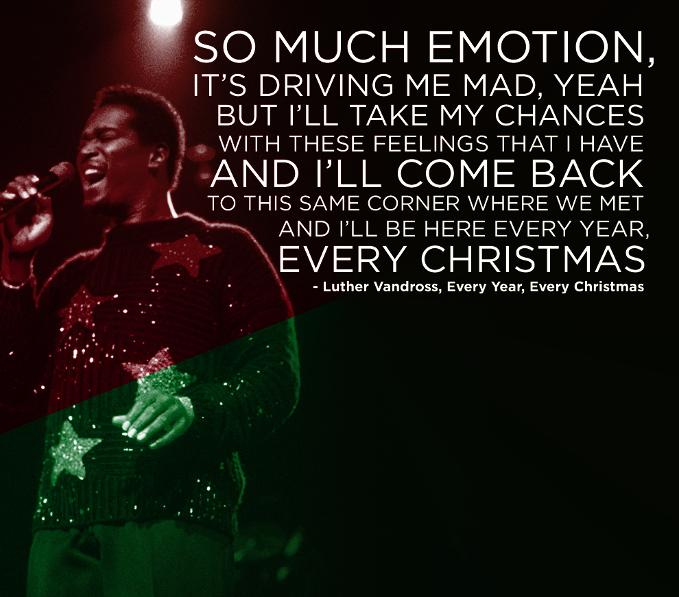 luther vandross every christmas - DIY Christmas Decorations Never Ending