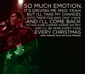 Luther Vandross Christmas.The 22 Saddest Christmas Songs Of All Time