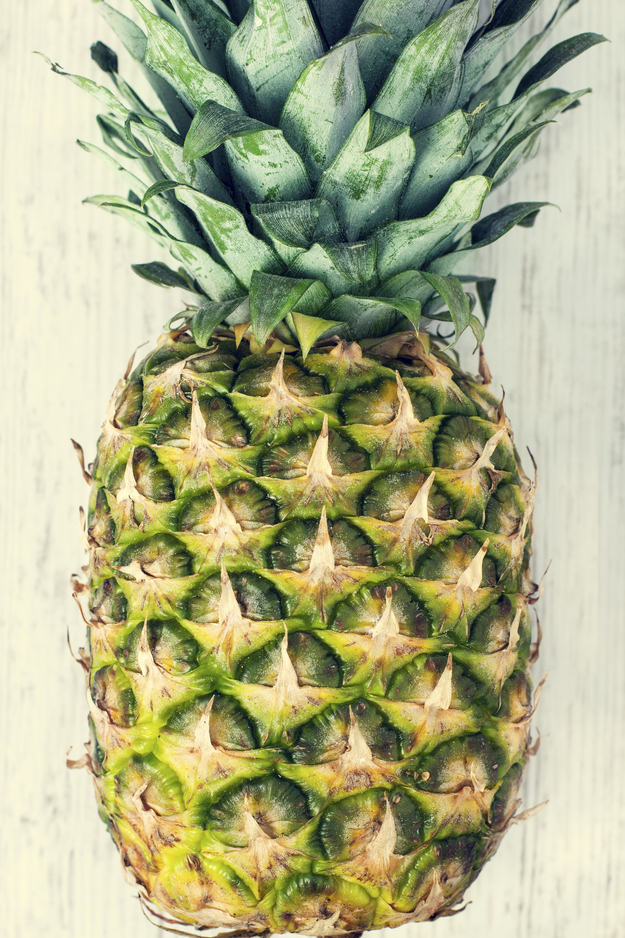Pineapple appeals to your palate while softening your calluses.