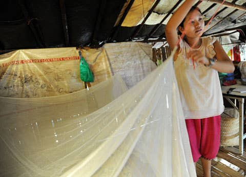 Do away with the box of chocolates and flowers this year and buy a gift with long-lasting impact. For only $18, a Rescue Gift of mosquito nets can help stop the spread of malaria, a deadly disease that kills a child every 60 seconds.