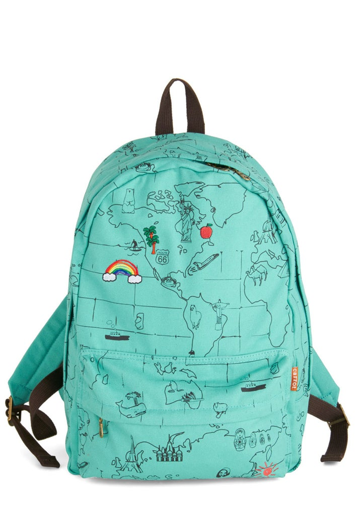 From rainbows in Hawaii to Christ the Redeemer in Rio, this backpack is ready for an adventure! Get it here for $49.99.