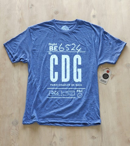 From LAX to Charles De Gaulle, Pilot and Captain have the perfect shirts for any traveler in your life. You can get these as tote bags too! $25.60