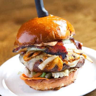 Behold: The Sriracha Burger