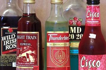 Bum Wine Comparing Wild Irish Rose Thunderbird Cisco Wine And Others