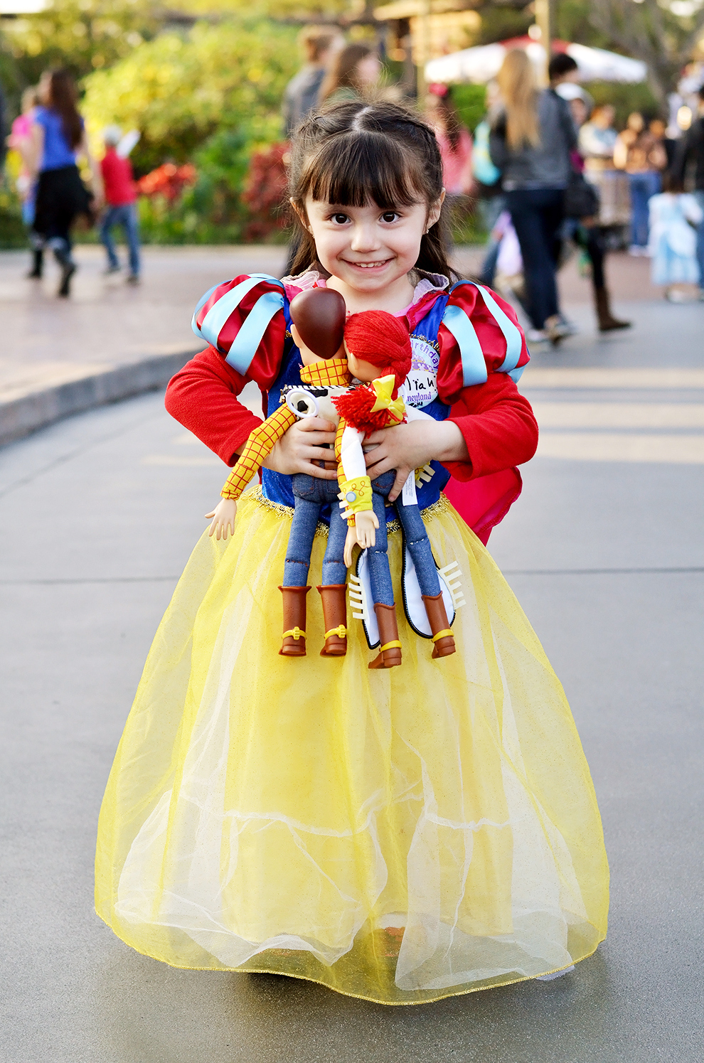 13 Of The Most Adorable Little Princesses At Disneyland