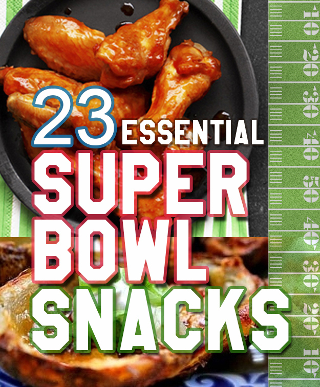 23 Essential Snacks Every Super Bowl Party Should Have