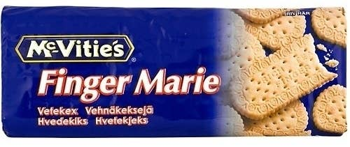 """Thankfully most of us don't blindly take orders from packets of biscuits or Marie would be a very busy girl indeed. Fortunately, the name is just a Scandinavian variant of """"Marie Finger"""" and nothing more suspect. I still like the idea of biscuit brands containing subliminal messages of a sexual nature though."""