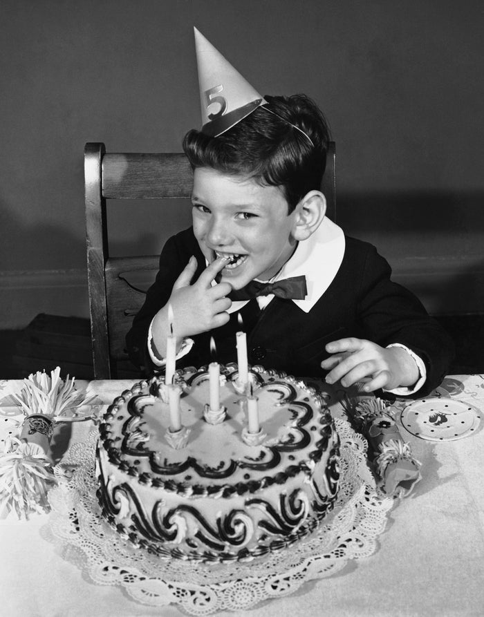 In fact, the origins of eating cake to celebrate a birthday can be traced back to Roman times. Birthday cake is forever, people. Be gone, cupcakes!