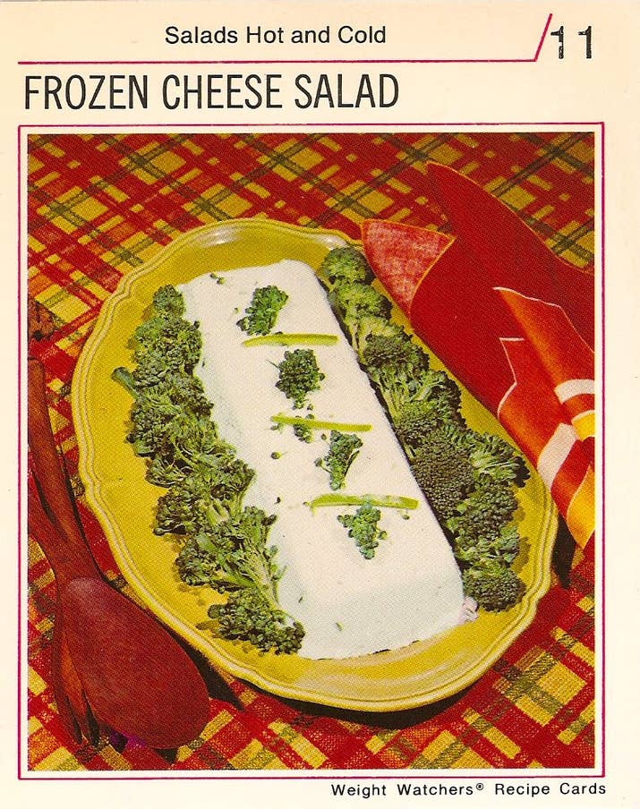 21 truly upsetting vintage recipes 13 frozen cheese salad forumfinder Gallery