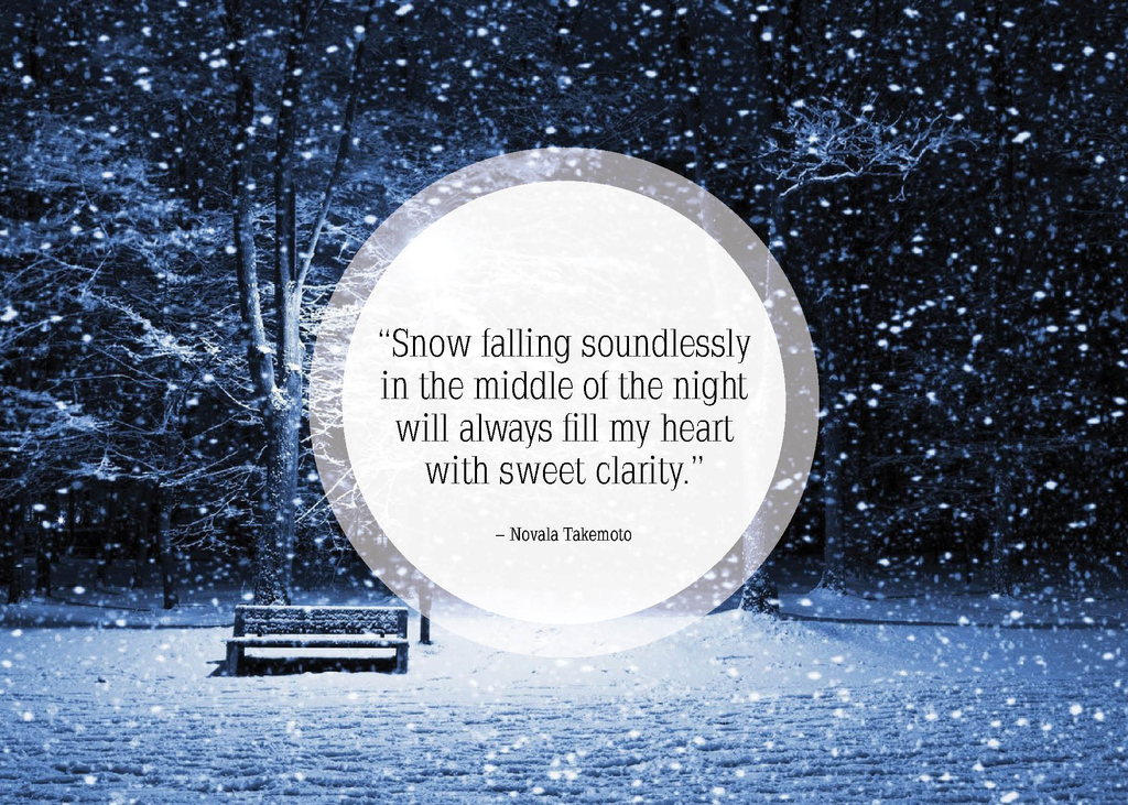 Snowflake Love Quotes Pleasing 25 Beautiful Quotes About Snow