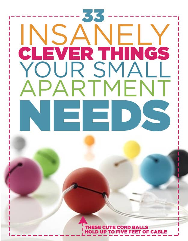 33 Insanely Clever Things Your Small Apartment Needs